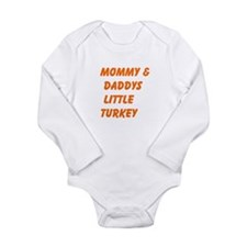 Mommy and Daddys Little Turkey Body Suit