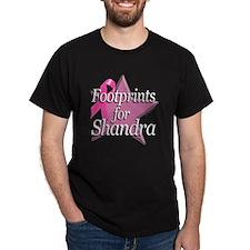 Footprints for Shandra T-Shirt