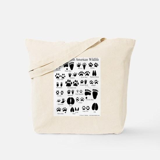 Animal Tracks Guide Tote Bag