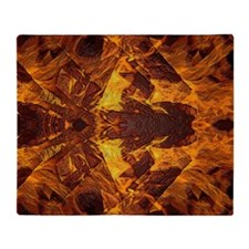 On Fire 1b Throw Blanket