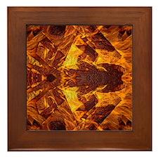 On Fire 1b Framed Tile