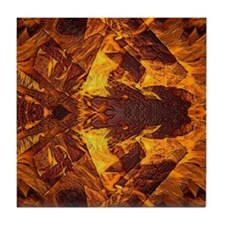 On Fire 1b Tile Coaster