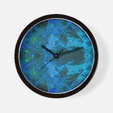 Cold Fire b Wall Clock