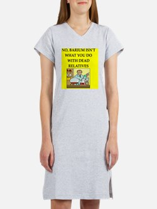 chemistry physics joke Women's Nightshirt