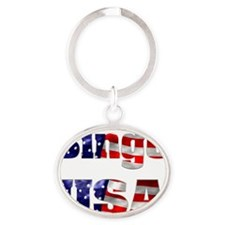 Bingo USA Oval Keychain