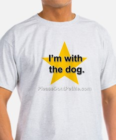 Im with the dog apparel plus size T-Shirt