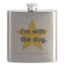 Im with the dog apparel plus size Flask
