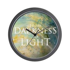 PSTR-from darkness to light Wall Clock