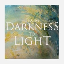 PSTR-from darkness to light Tile Coaster