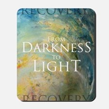 PSTR-from darkness to light Mousepad