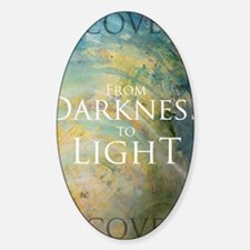 PSTR-from darkness to light Decal