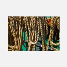 Copy 2 of ropes for the rigging Rectangle Magnet