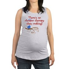 craft-therapy Maternity Tank Top