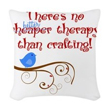 craft-therapy Woven Throw Pillow