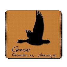goose_10x10_colour Mousepad