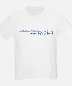 Idiot in the White House Kids T-Shirt