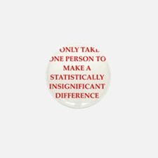 statistics joke gifts t-shirt Mini Button