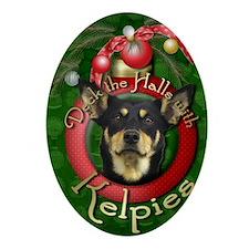 DeckHalls_Kelpie Oval Ornament