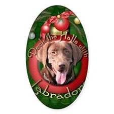 DeckHalls_Labradors_Chocolate Decal