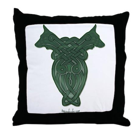 Celtic Doberman Throw Pillow