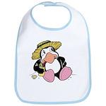 Beach Penguin Cute Cartoon Bib