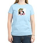 Beach Penguin Cute Cartoon Women's Light T-Shirt