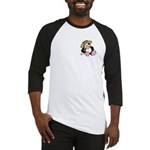 Beach Penguin Cute Cartoon Baseball Jersey