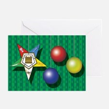 OES ornaments Greeting Cards (Pk of 20)