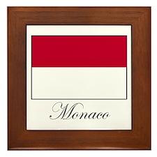 Monaco - Flag Framed Tile