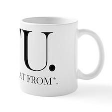 FU Shirt Mug