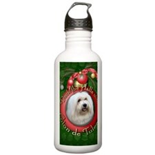 DeckHalls_Coton_de_Tul Water Bottle