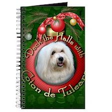 DeckHalls_Coton_de_Tulear Journal