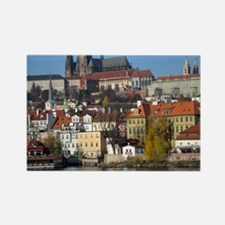 prague Rectangle Magnet