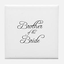 Brother Of Bride - Formal Tile Coaster
