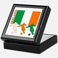 Soccer Ireland Keepsake Box
