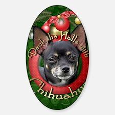 DeckHalls_Chihuahuas_Isabella Decal