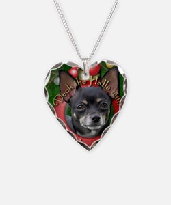 DeckHalls_Chihuahuas_Isabella Necklace Heart Charm