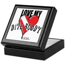 2-Love-My-Dive-Buddy Keepsake Box