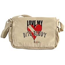 2-Love-My-Dive-Buddy Messenger Bag
