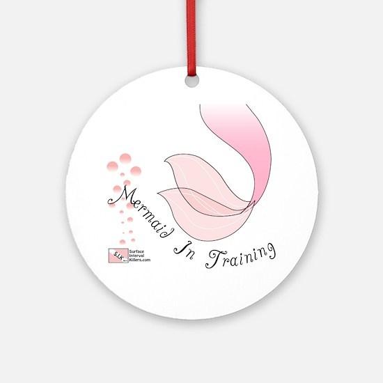 3-Mermaid Round Ornament
