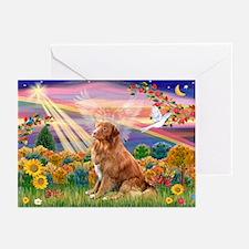 Autumn Angel & Nova Scotia Greeting Cards (Pk of 1
