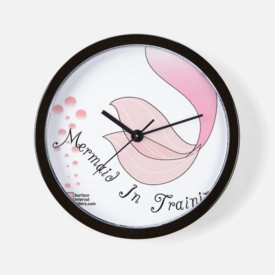 3-Mermaid Wall Clock
