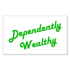 Dependently Wealthy Rectangle Decal