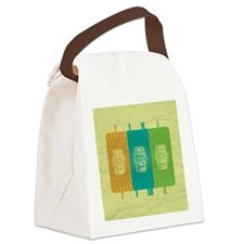 Tiki Time Canvas Lunch Bag