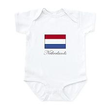 Netherlands - Dutch Flag Infant Bodysuit