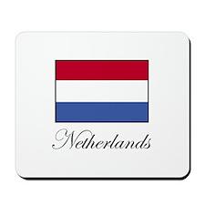 Netherlands - Dutch Flag Mousepad