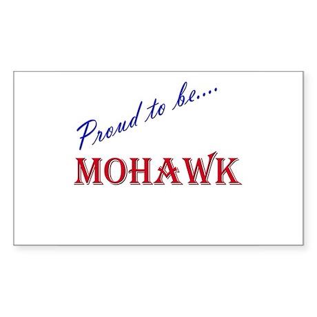 Mohawk Rectangle Sticker