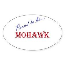 Mohawk Oval Bumper Stickers