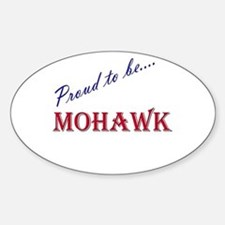Mohawk Oval Bumper Stickers