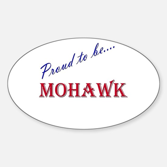 Mohawk Oval Decal
